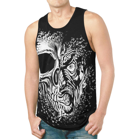 Immortalized Faces Relaxed Fit Men's Tank Top - BigTexFunkadelic
