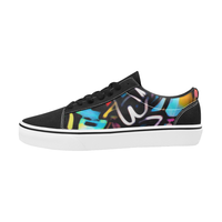 Streetart Chaos Men's Low Top Skateboarding Shoes