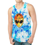 Fire and Ice Alien Blast Relaxed Fit Men's Tank Top | BigTexFunkadelic