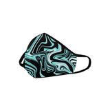 Glacier Melt Rave Spill Mouth Mask *Ready To Ship* | BigTexFunkadelic