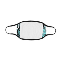 Glacier Melt Rave Spill Mouth Mask *Ready To Ship*