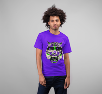 Neon Rave Tiger T-Shirt