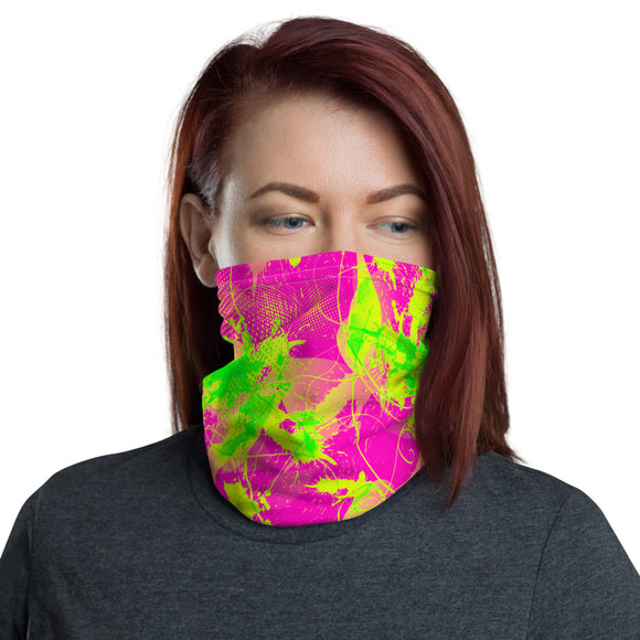80s Summer Pop Neck Gaiter Mask | BigTexFunkadelic