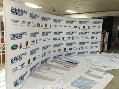 6m Curved Backdrops Australia