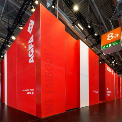 Printed Walls Exhibition Stands