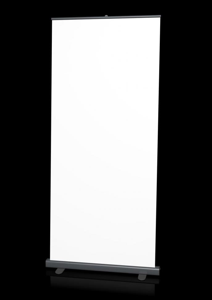 A Blank Standee