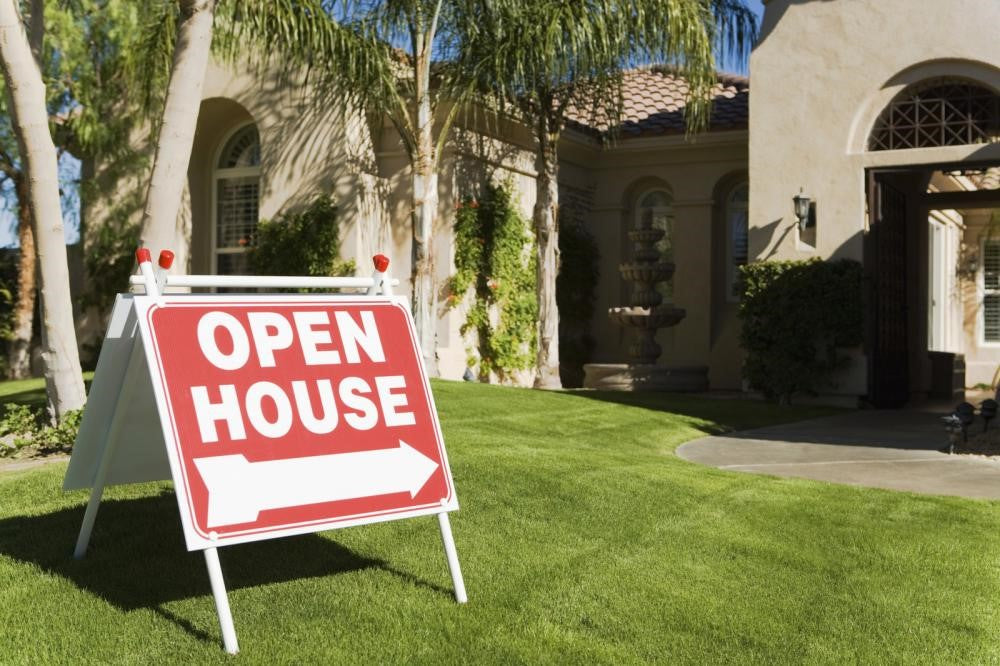 Types of open house signs