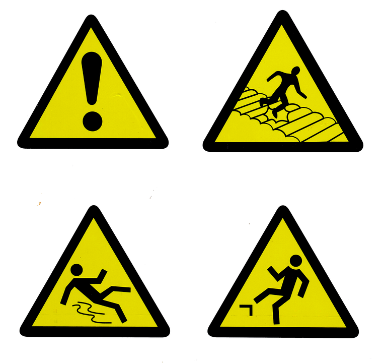 Several Constructions Signs
