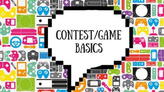 Contest/Game Basics