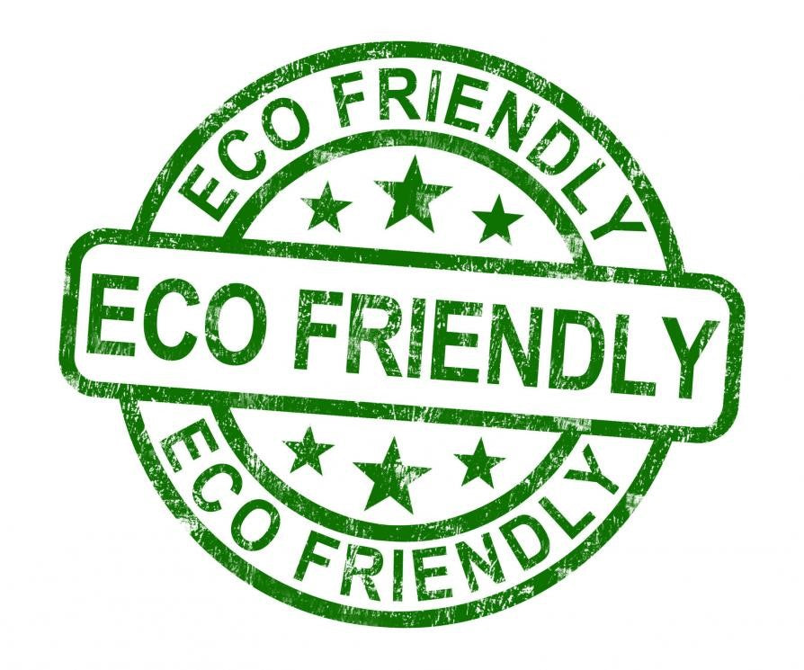 Logo labelled eco friendly
