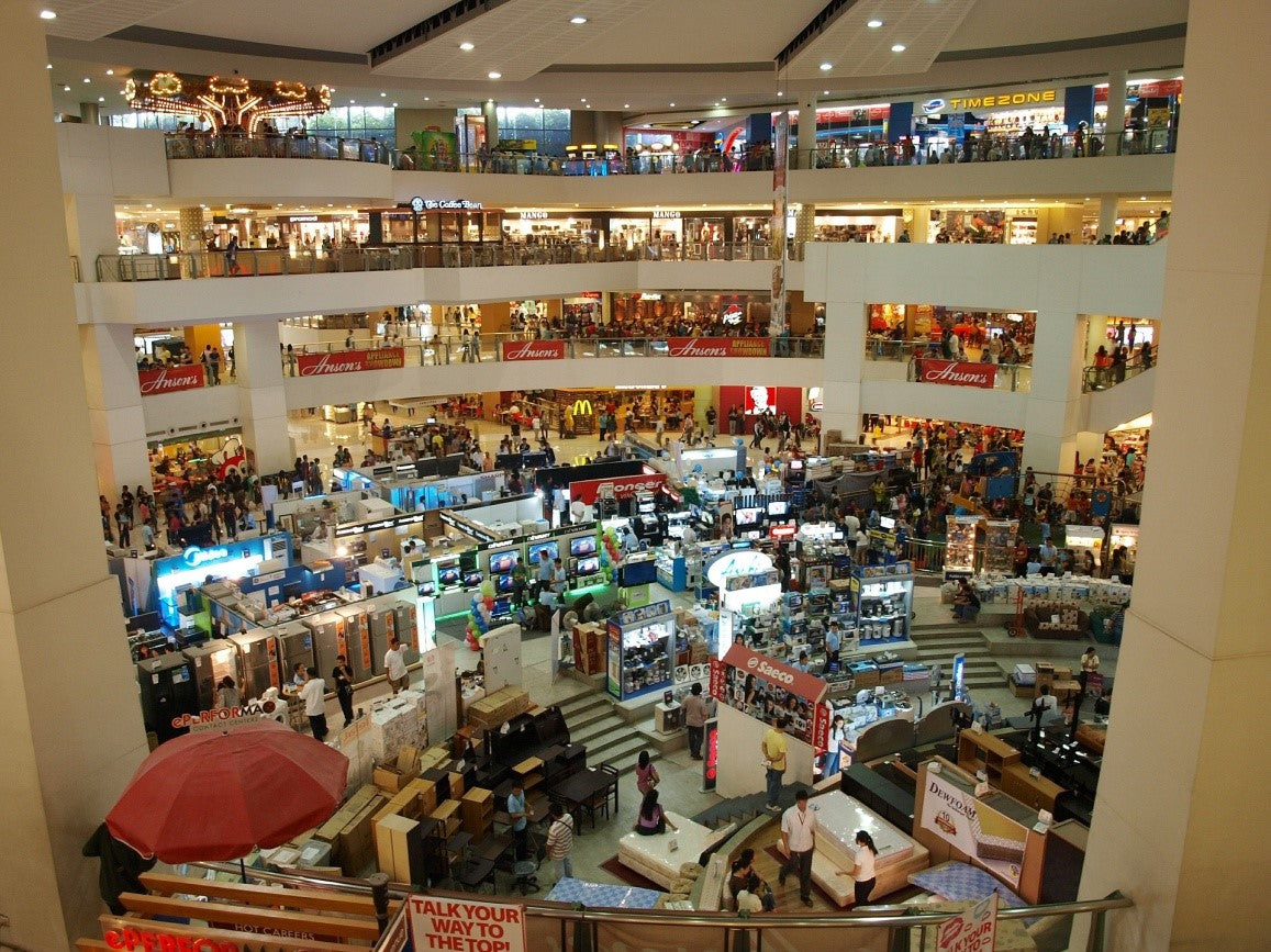 Pop-up Shops in a Shopping Mall