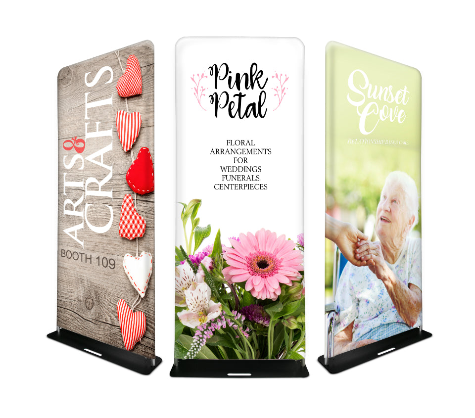 Custom Tension Fabric Banner Stand