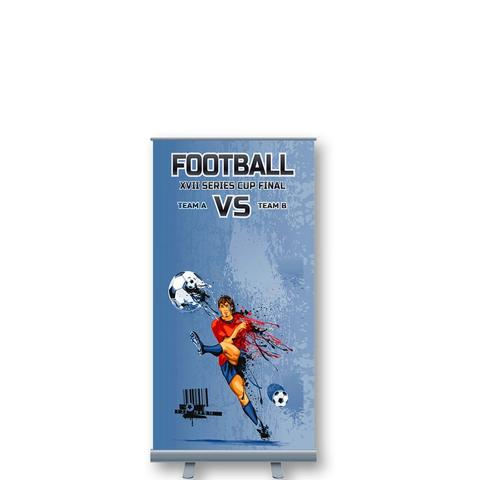 Shopping Centre Pull Up Banner Stand (1.4m H)