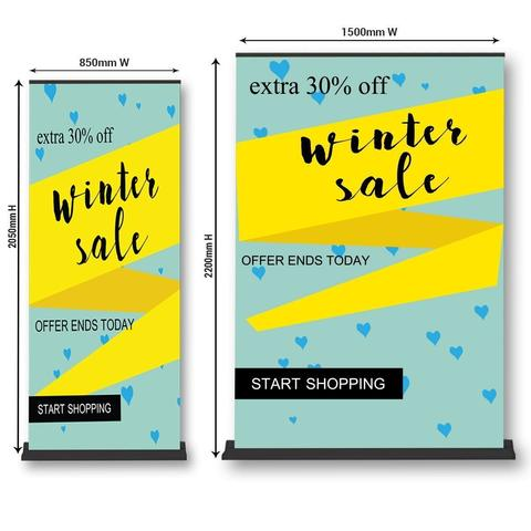 Premium Pull Up Banners Brisbane