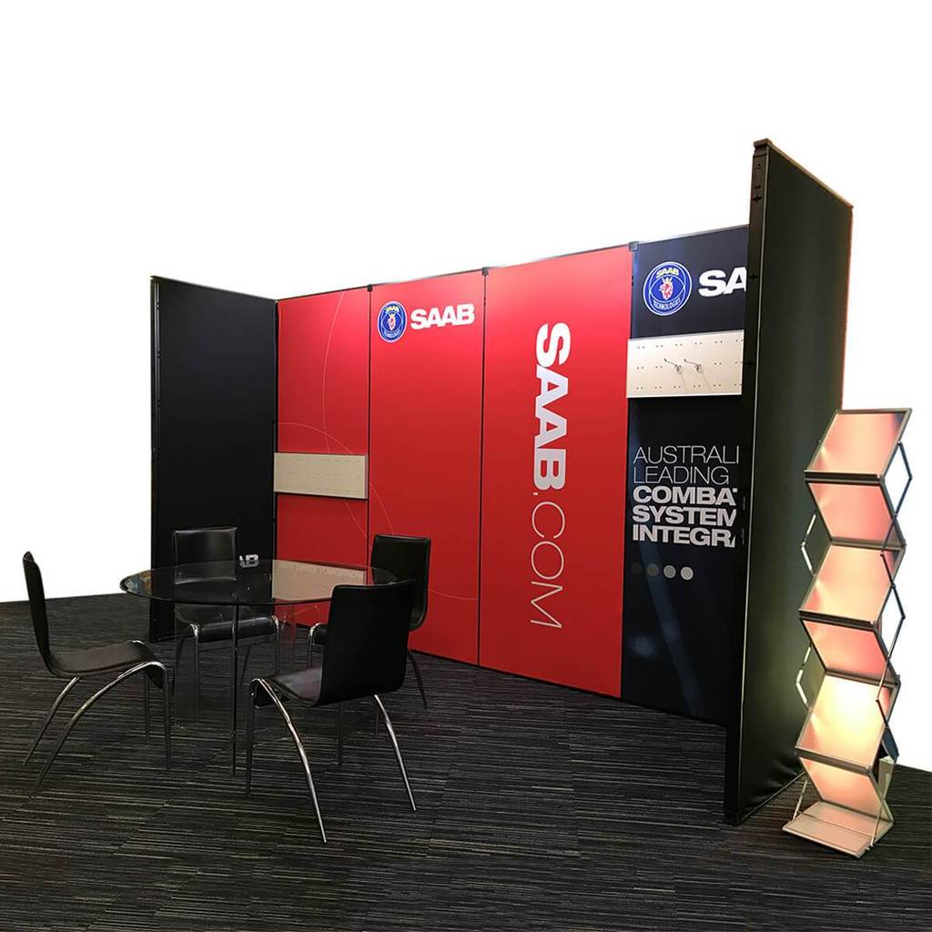 Vivid Exhibition Displays Custom Modular Exhibition System - Z1