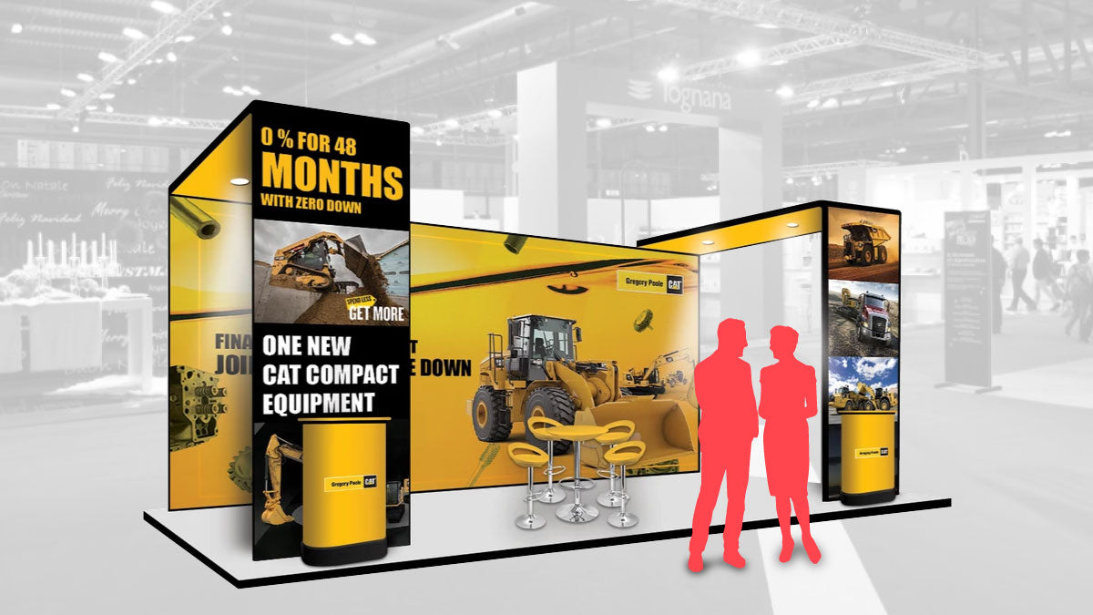 modular stands for trade shows