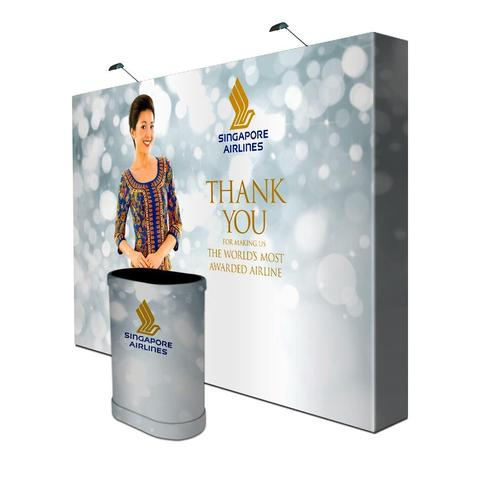 Exhibition Stretch Fabric Displays