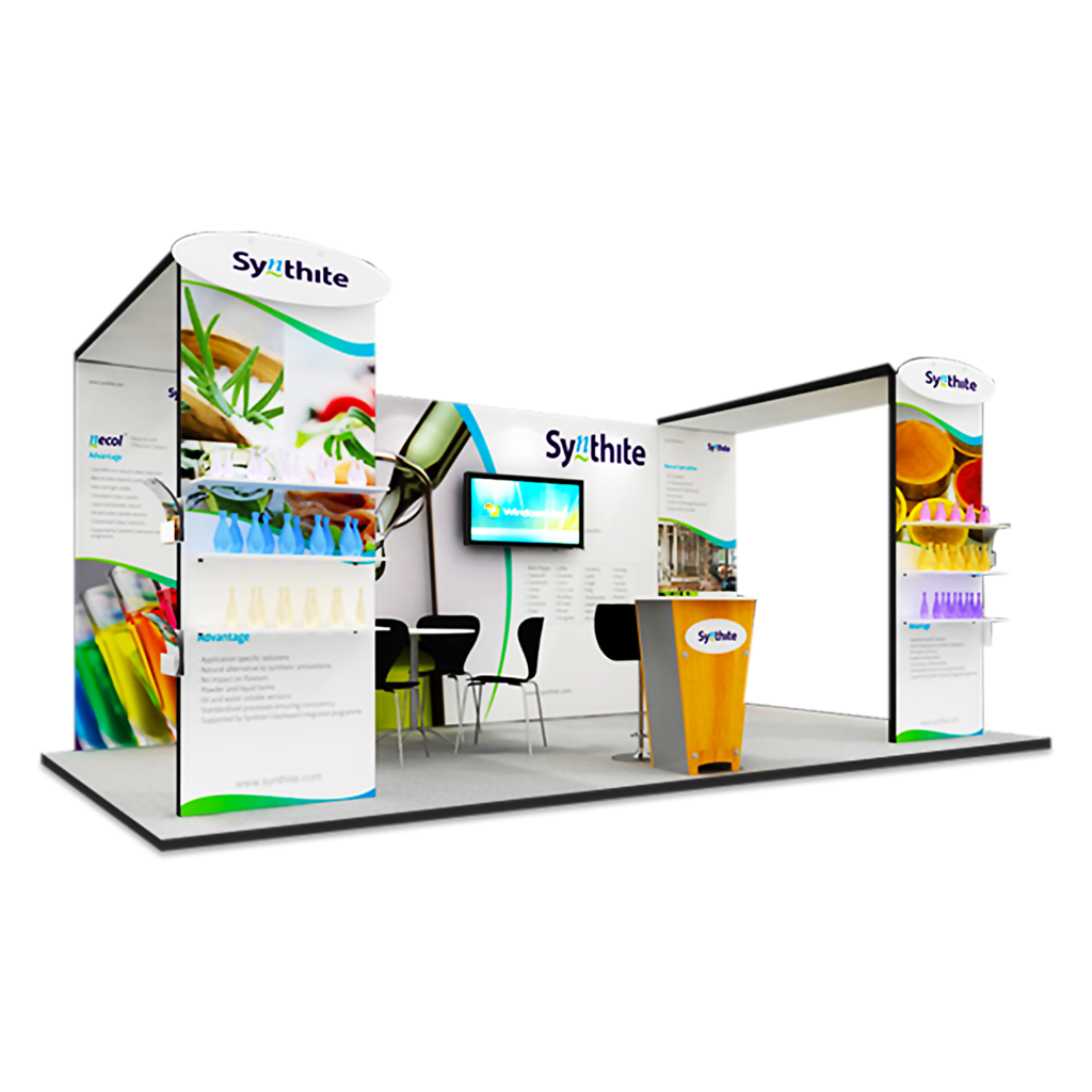 Vivid Exhibition Displays Modular Exhibition System - Z4