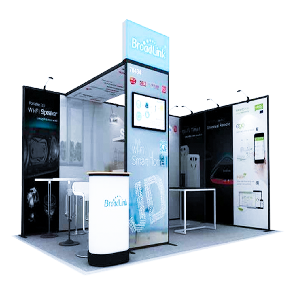 Vivid Exhibition Displays Modular Exhibition System - Z5