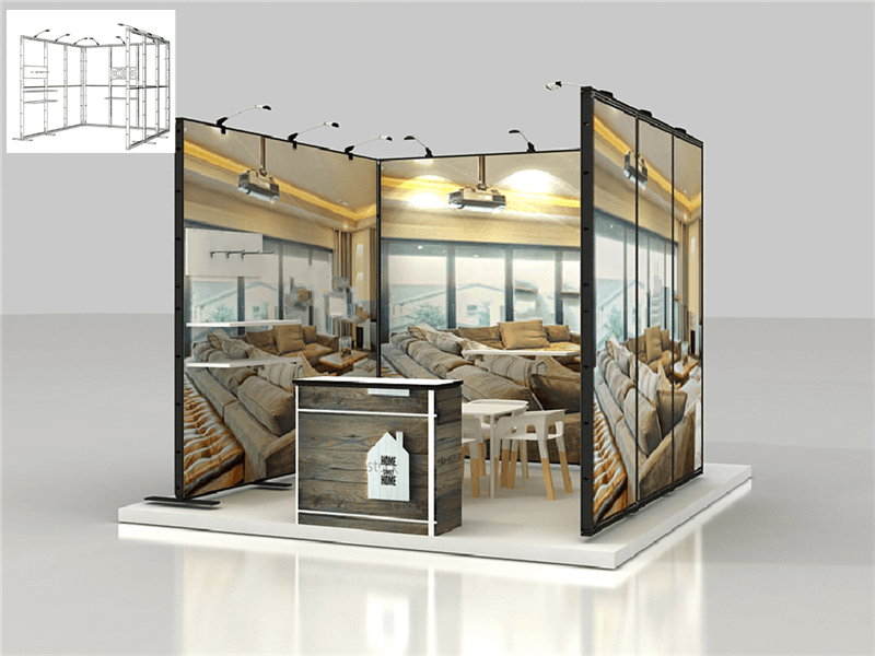 modular booth systems 3m