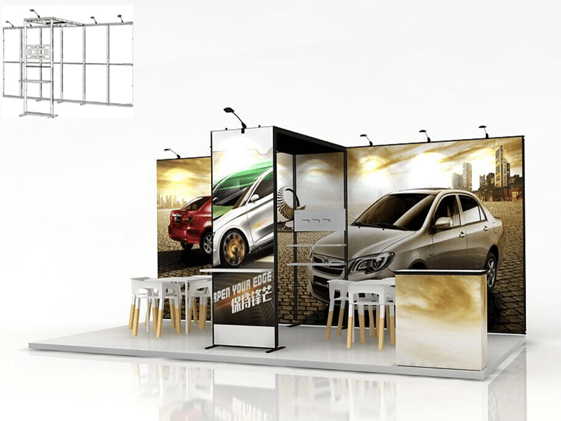 modular booth systems 6m