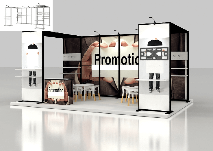 modular booth systems australia 6m