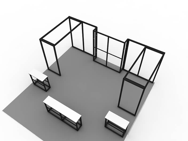 modular booth systems victoria