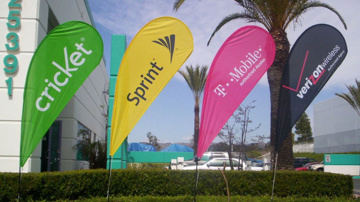 promotional flags for business