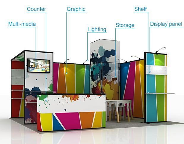 trade show structures australia 6m
