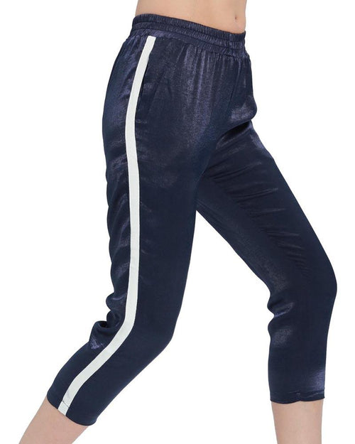 Active Side Striped Satin Sweatpants
