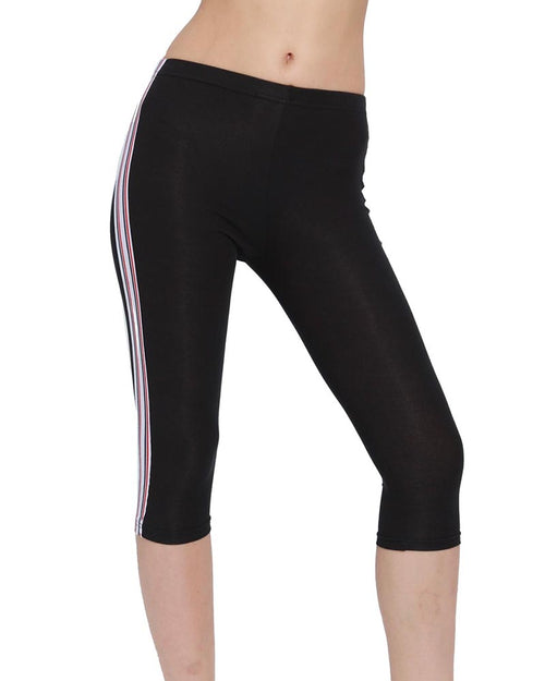 Active Elastic Side Striped Sweatpants