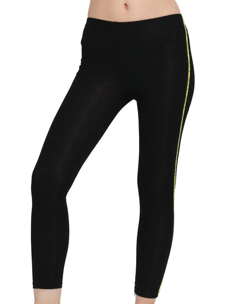 Active Print Side Slim Leggings