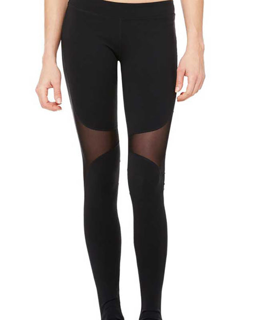 Active Stirrup Mesh Contrast Leggings