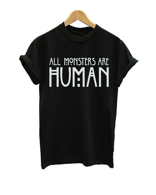 Casual Slogan Print Rolled Sleeve T-shirt