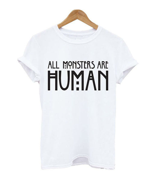 White Casual Slogan Print Rolled Sleeve T-shirt