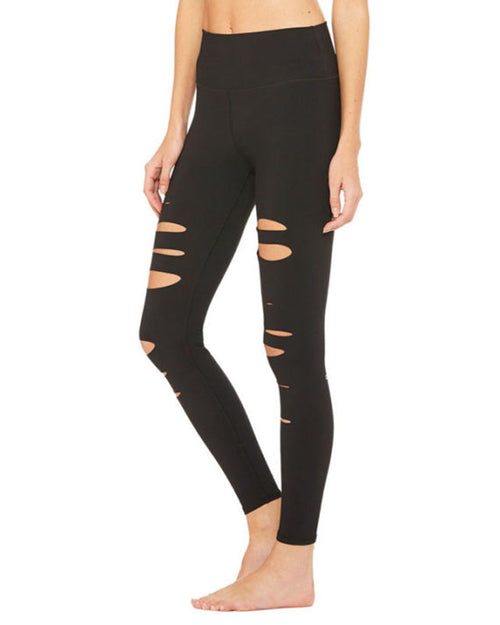 Active Ripped Ankle Leggings