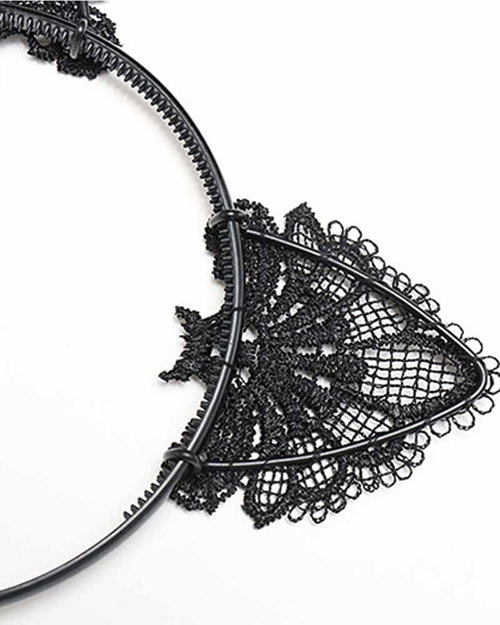Cat Ear Lace Headband