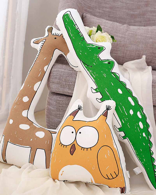 Cotton Animal Shape Pillow