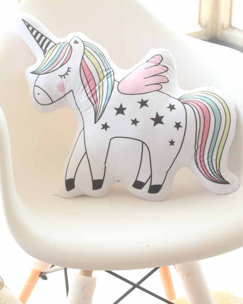 Cute Unicorn Shape Pillow