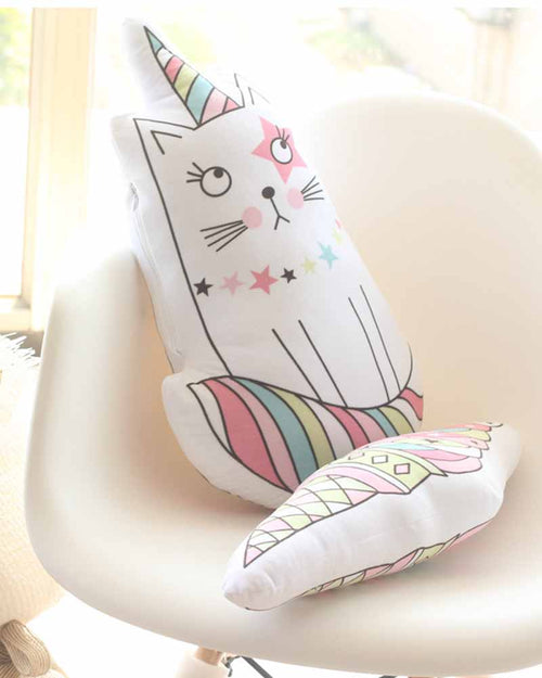 Cute Cotton Cat Pillow