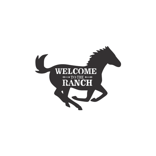 Welcome To The Ranch Metal Wall Art - My Treasure Barn
