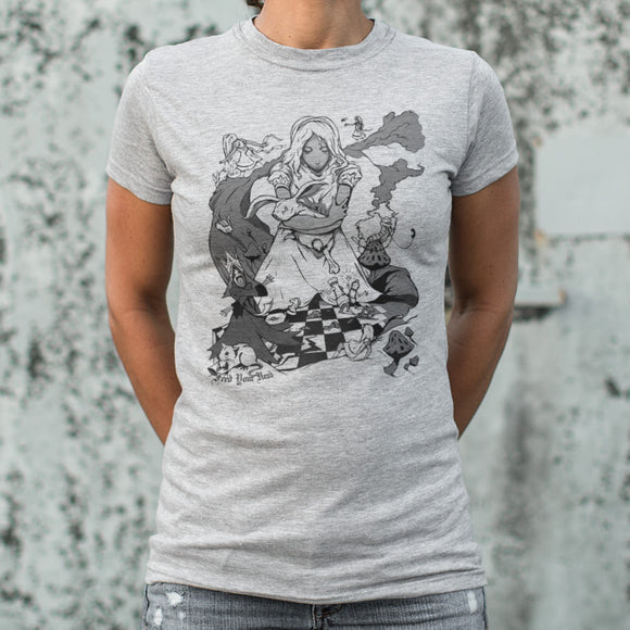 Ladies Alice In Wonderland T-Shirt
