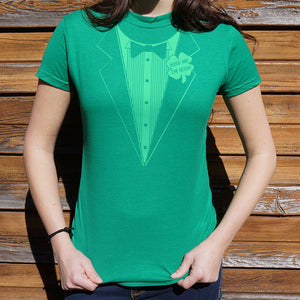 Ladies Irish Tuxedo T-Shirt