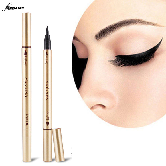 NEW Waterproof Eye Brow Eyeliner Liquid Eyebrow Pen Pencil Makeup Cosmetic Tools M02820