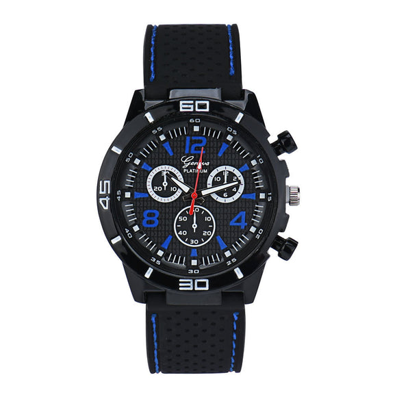 Military & Sport Silicone Wristwatch
