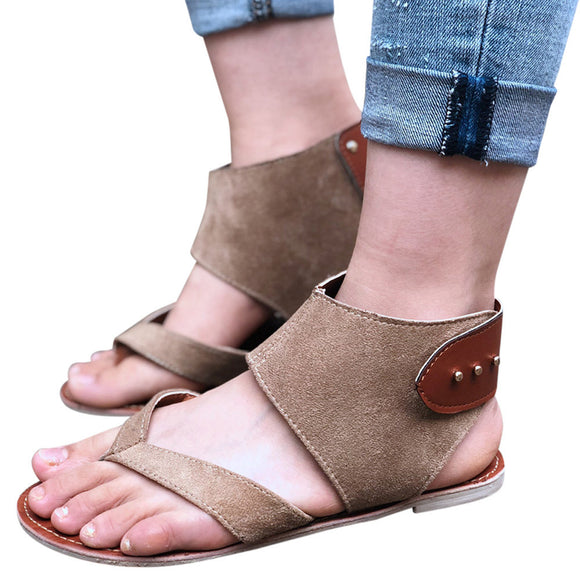 Flats Fashion Casual Roman Style Sandals