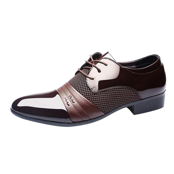 Pointed Business Casual Oxford Shoes