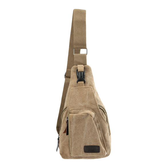 Vintage Canvas Military Bag