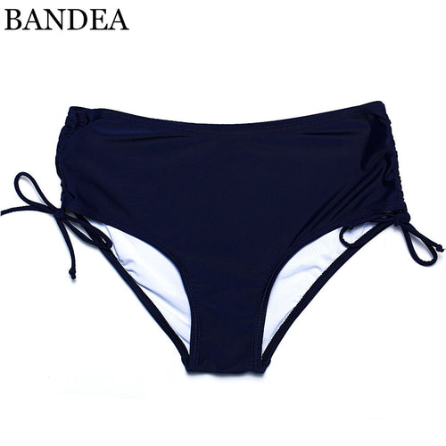 BANDEA Hot New Solid Bikini Bottoms Sexy Straps Bikini Brief Bottom Swimwear Trunks Underwear Plus Size