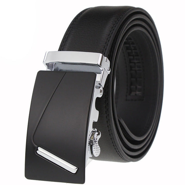 CETIRI Ratchet Belt Cow Genuine Leather Belt For Men Designer Belts High Quality Automatic Buckle Kemer cinturon hombre ceinture